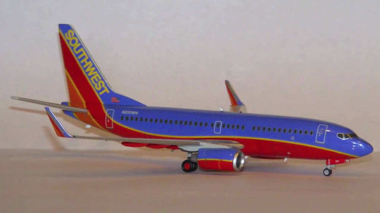 Model Review Geminijets 1 200 Southwest Airlines Boeing