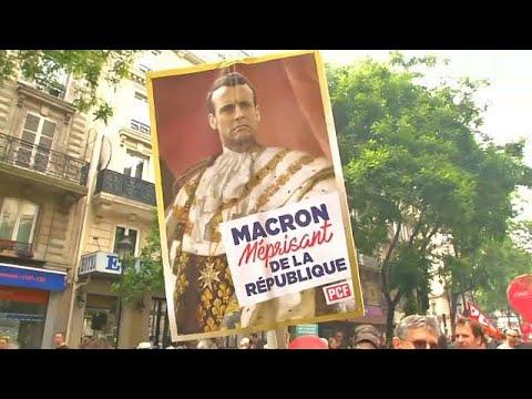 عمليات توقيف في باريس على هامش مظاهرات منددة بإصلاحات ماكرون…  - نشر قبل 5 ساعة