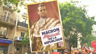 عمليات توقيف في باريس على هامش مظاهرات منددة بإصلاحات ماكرون…