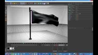Cinema 4D - Flag Tutorial