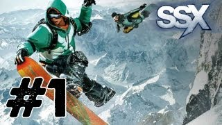 SSX: Gameplay/Commentary - Part 1 [Tutorial and First Level