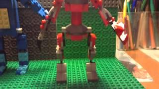 Лего five nights at Freddy's. Foxy, Bonnie, Mangle