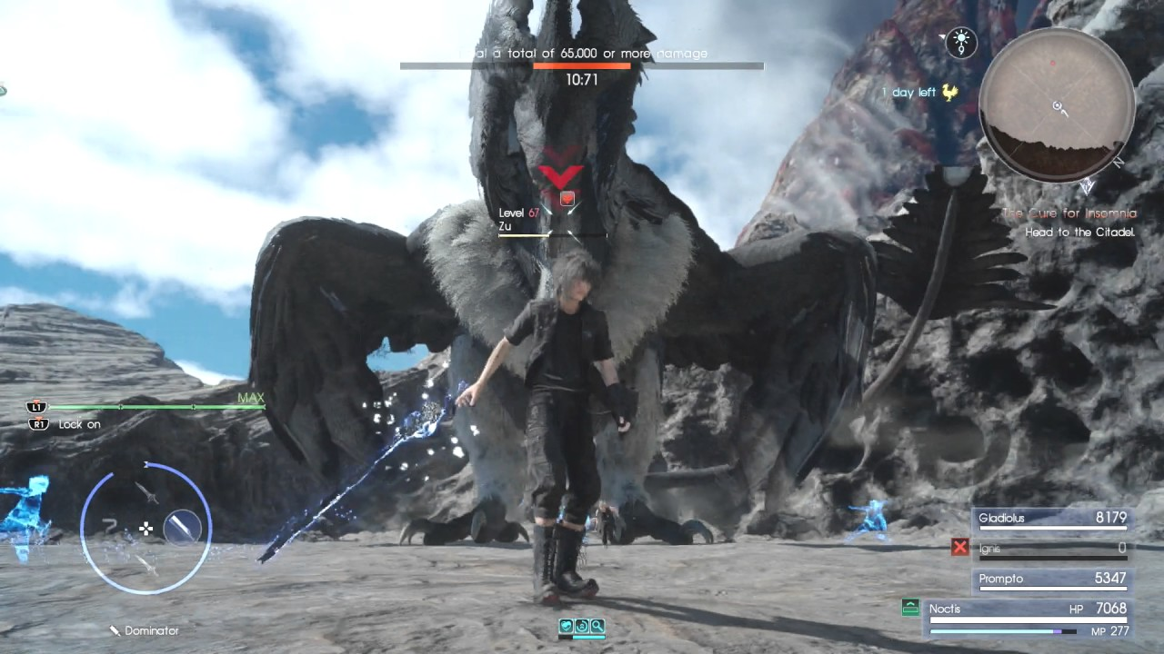 final fantasy 15 how to get zu beak