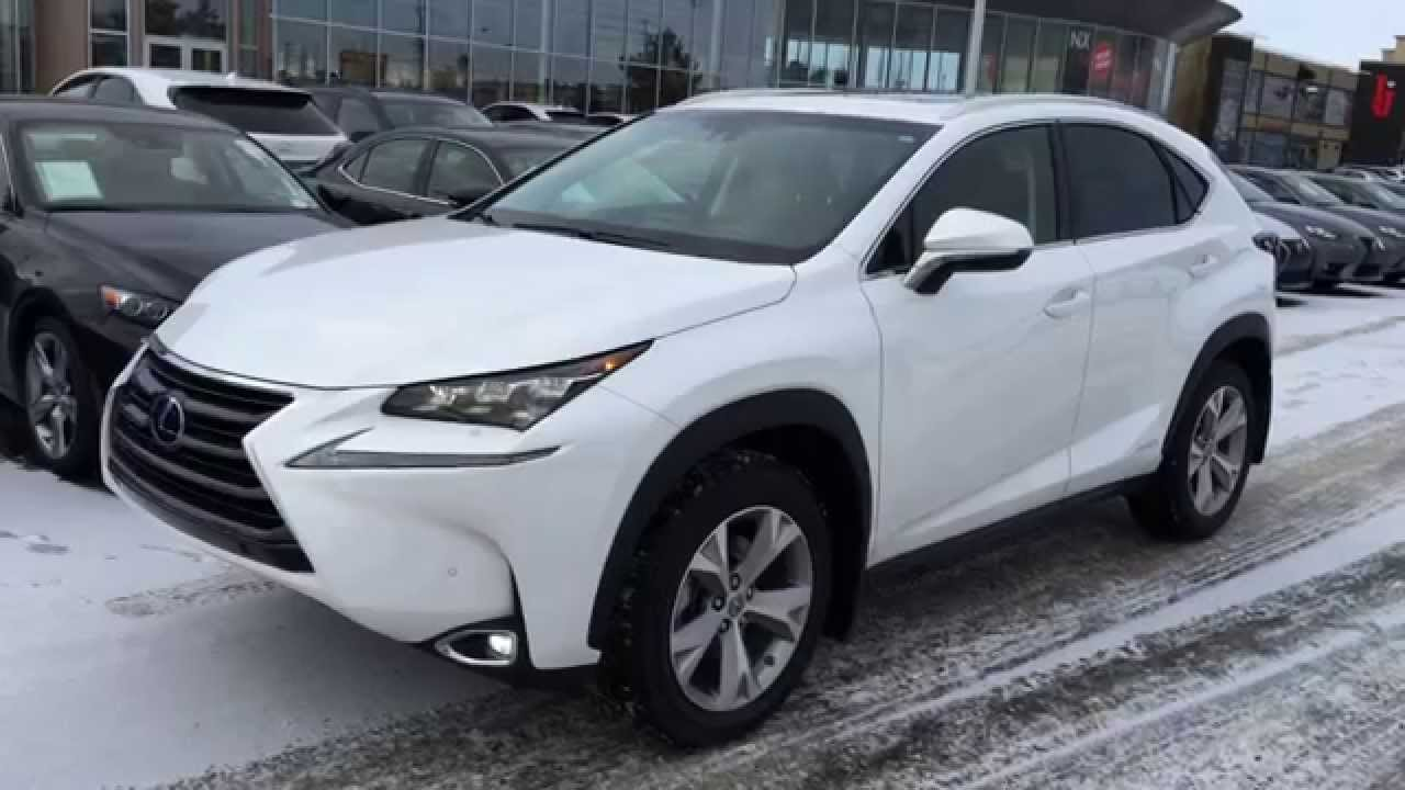 new 2015 lexus nx 300h hybrid awd review - youtube