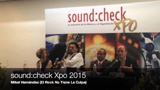 """Alan Parsons y Andres Mayo en soundcheck Xpo """"Tenemos que Sacar Al Mp3"""" Radio Anahuac."""
