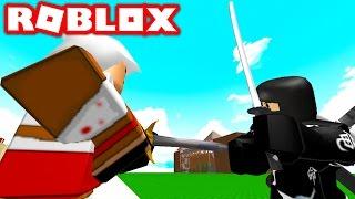NINJA VS ASSASSINS IN ROBLOX! (Roblox Ninjas vs Assassins)