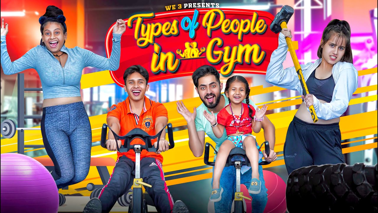 Download Types of People in Gym || we3 || Aditi Sharma