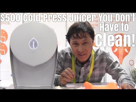 $500 Cold Press Juicer You Don't Have to Clean