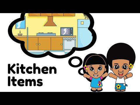 Learn Kitchen Items - Samoan Language