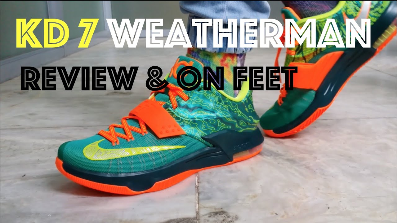 e0a9ce92b1b KD 7 Weatherman Review   On Feet - YouTube