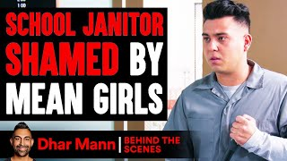 School Janitor Shamed By MEAN GIRLS ft. SSSniperWolf (Behind-The-Scenes) | Dhar Mann Studios