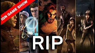 الوداع يا Telltale Game - حلقة IGN Game Show 12