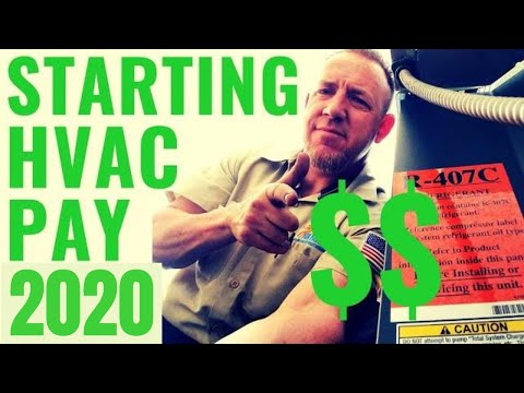 What is the Starting Salary for an HVAC Technician