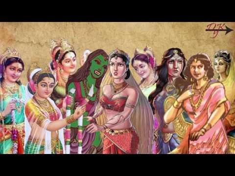 पांडवो की थी 9 पत्नियाँ और 13 पुत्र ...|
