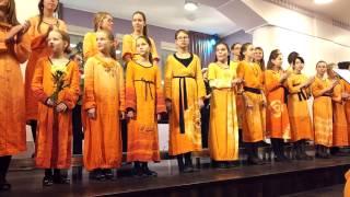 """2.video.Grāmatas un CD """"Sapnis par ziemassvētkiem"""" atklāšanas koncerts.18.12.2012."""