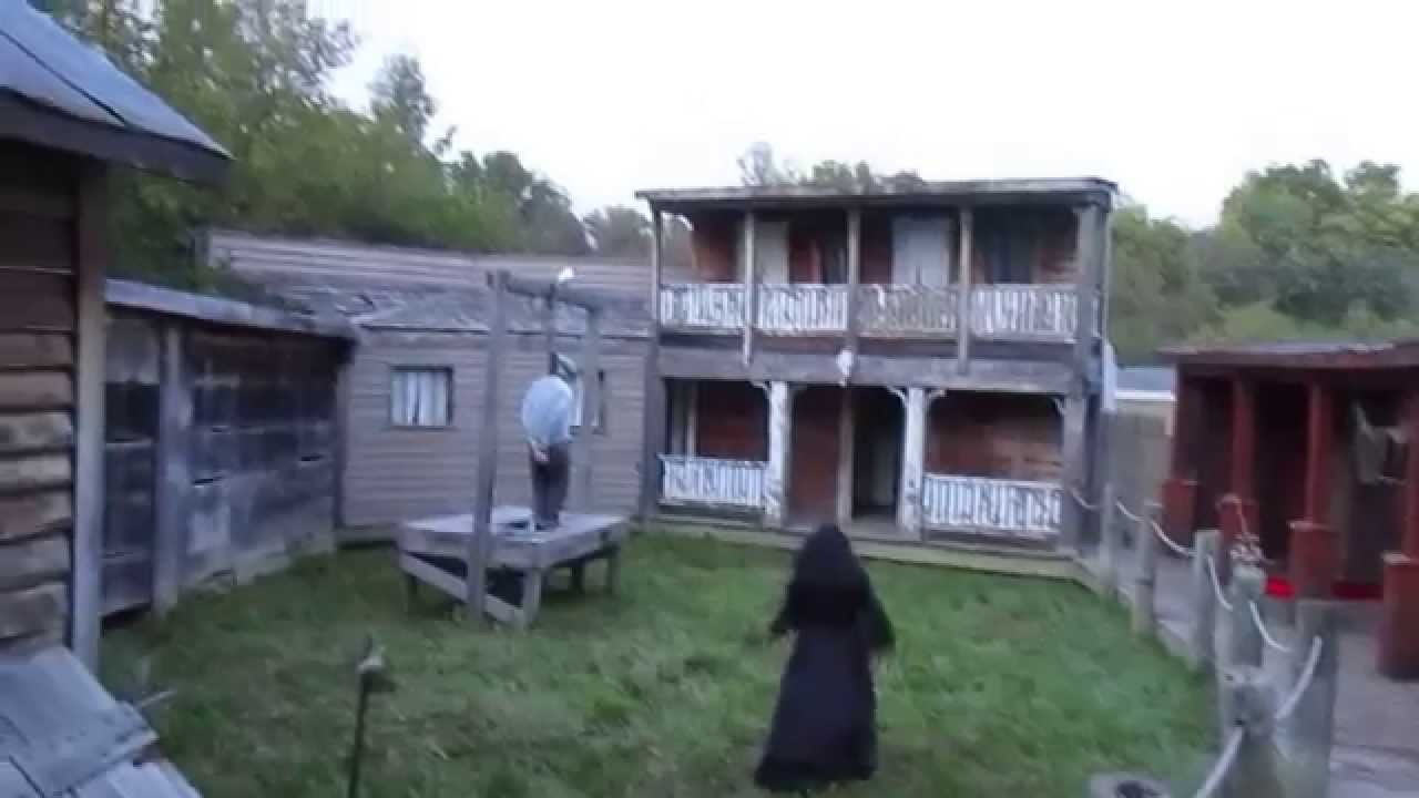 A Look At Our Scene At Springboro Haunted Hayride Youtube