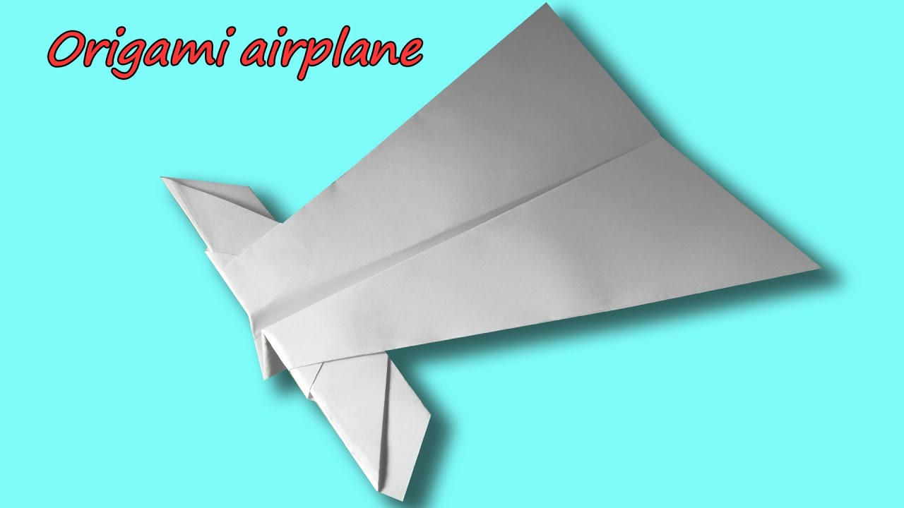 paper airplane origami origami paper plane 9 easy origami ... | 720x1280