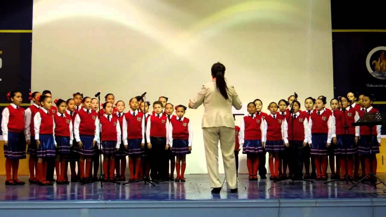 caresse sur locean por coro de primaria ignacio zaragoza