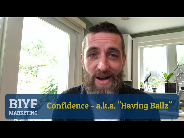 How to speak with confidence - having the balls to be a more confident public speaker