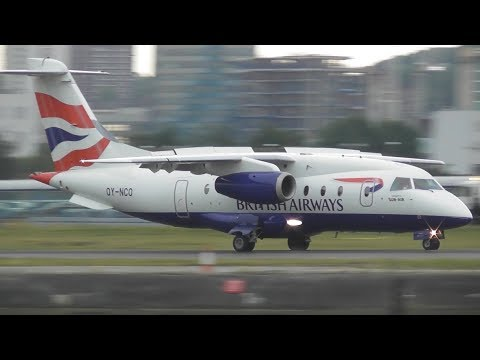 Plane Spotting at London City Airport, LCY | 29-08-17