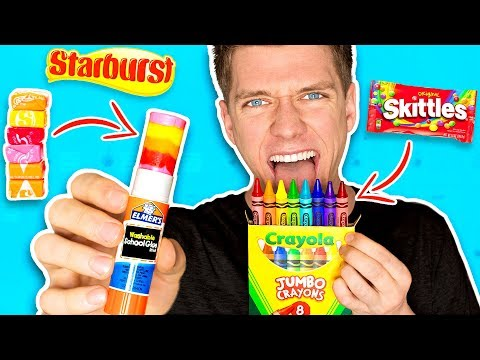 Thumbnail: DIY Edible School Supplies!!! *FUNNY PRANKS* Back To School! Learn How To Prank using Candy & Food