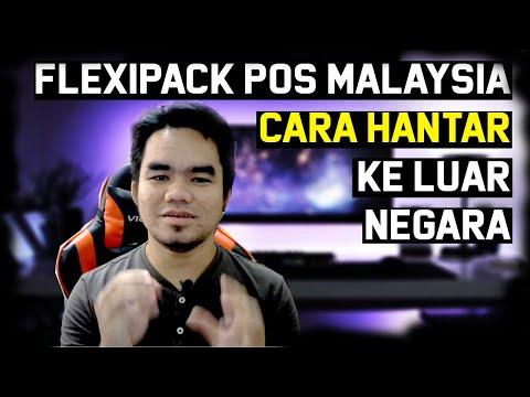 Cara Pos Ke Luar Negara Flexipack Pos Malaysia Tracked Registered