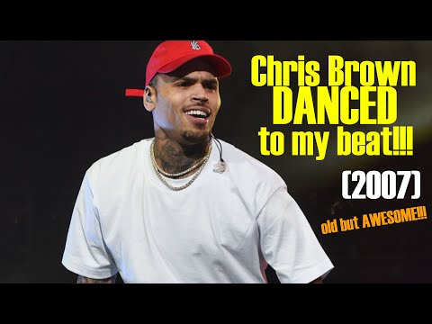 Chris Brown dances to Heem Instrumental (2007)