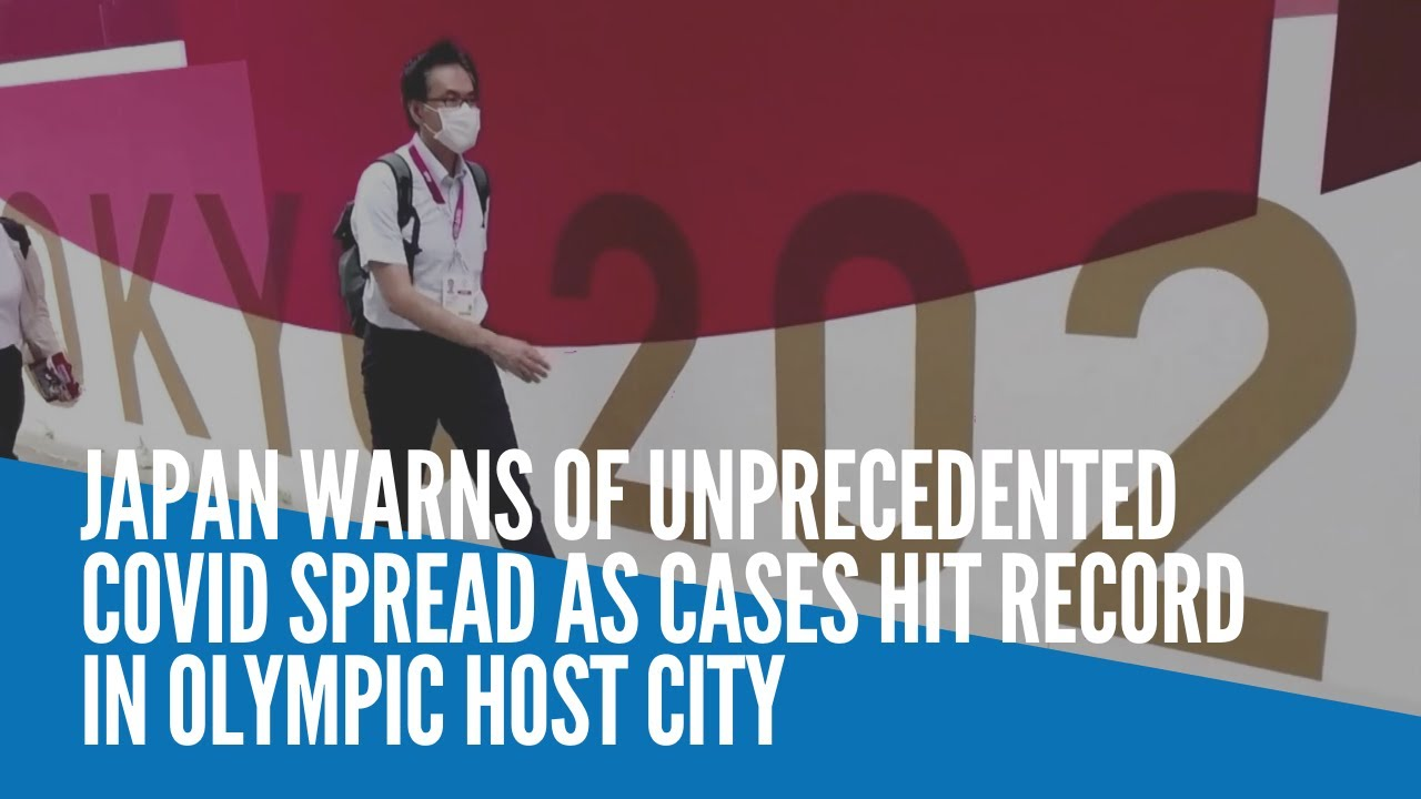 Download Japan warns of unprecedented COVID spread as cases hit record in Olympic host city
