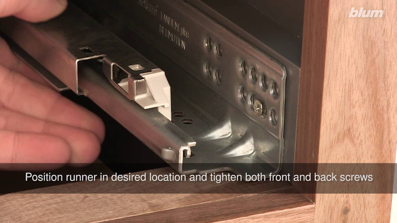 Tandem Plus Blumotion Depth Adjustment Youtube