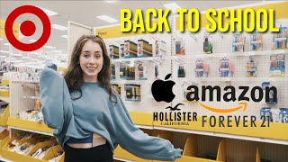 Back To School Shopping & Haul 2019 | Target, Apple, Amazon, Tillys, Forever 21