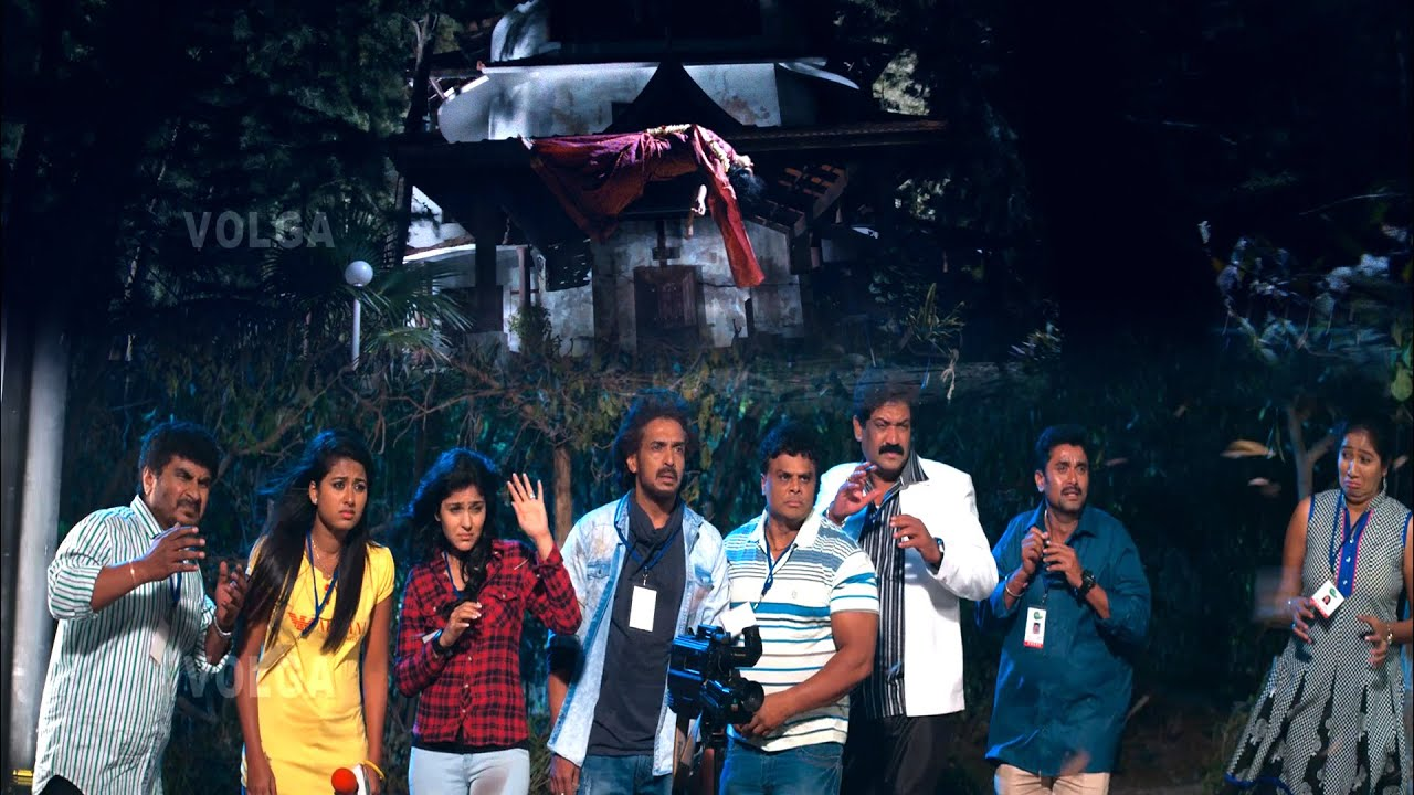 Upendra Supper Hit Horror Comedy Scene || Volga Videos