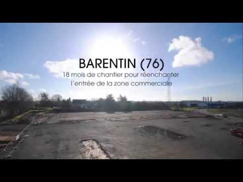présentation du retail park de Barentin