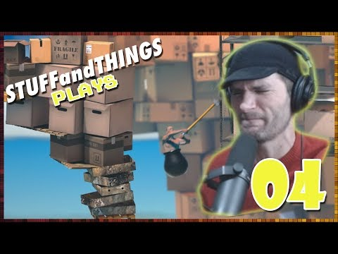 GETTING OVER IT: The Pot-Man Marches On - Part 04 - STUFFandTHINGS Plays...
