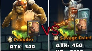 Clash Of Lords 2 Pounder VS Savage Chief