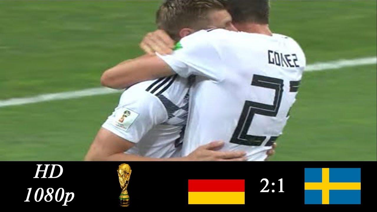 Download ⚽Germany vs Sweden 2-1 All Goals & Highlights 23/06/2018 World Cup⚽