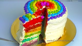 Download Video RAINBOW CAKE *COOK WITH FAIZA* MP3 3GP MP4