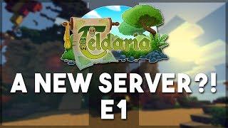 A NEW SERVER?! - Minecraft - Teldaria EP1