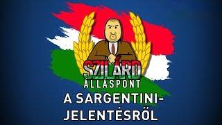 Szilárd Álláspont - A Sargentini-jelentésről