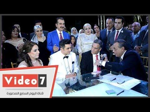 زفاف الرائد أحمد عصام شلتوت فى حضور نجوم الرياضة والمجتمع  - 18:22-2018 / 4 / 15