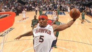 Josh smith dunk mix! crazy slams from former slam dunk champion