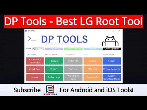 DP Tools - Best LG Root Tool | Super Tools - YouTube