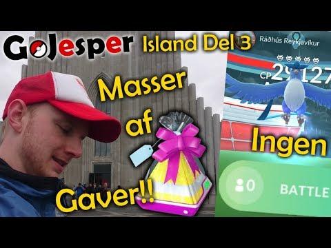 Island Del 3: Articuno Dag og MASSERE af gaver!! (Dansk Pokémon GO) thumbnail