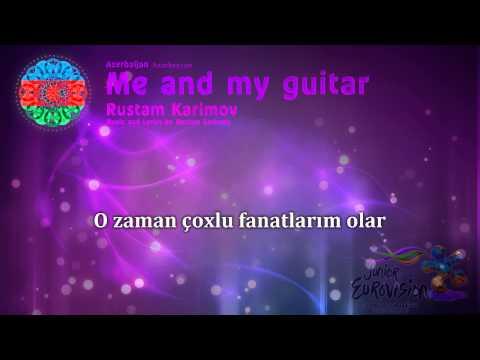"""Rustam Karimov - """"Me and my guitar"""" (Azerbaijan) - [Karaoke version]"""