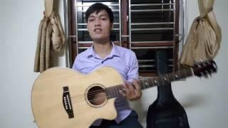 Đàn guitar giá rẻ 1400k. Mã FS2.  gỗ Hồng Đào - Full Solid
