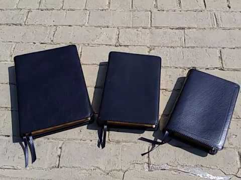 Local church bible publisher LCBP leathers.   Basic, Signature and Executive