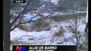 ALUD DE BARRO EN EL CERRO CATEDRAL