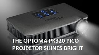 Optoma PK-320 Pico Projector Review
