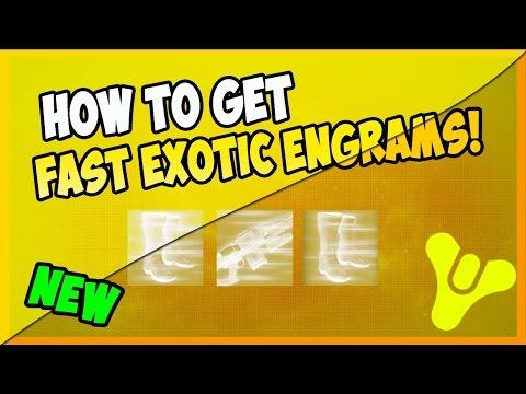 Destiny Exotic Engram Farm #3 - After April Update!
