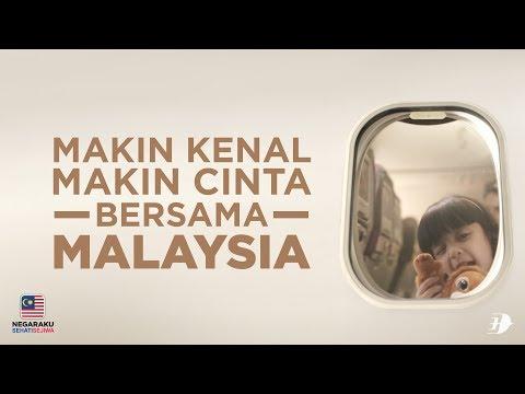 IKLAN HARI MALAYSIA DARIPADA MALAYSIA AIRLINES 2017 #MAKINKENALMAKINCINTA