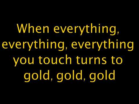 Imagine Dragons - Gold (Lyrics)